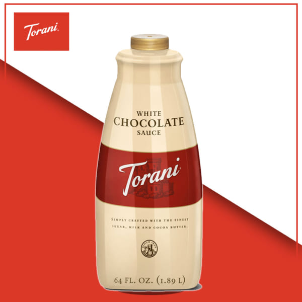 TORANI SAUCE WHITE CHOCOLATE