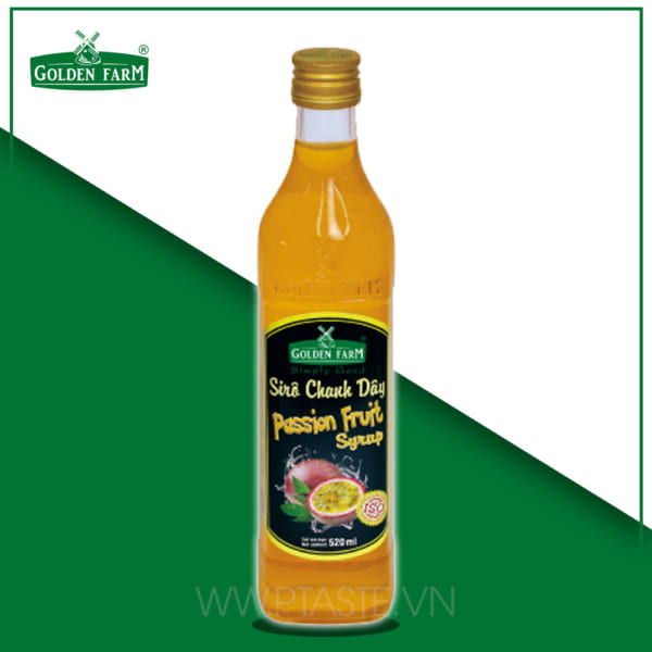 GOLDEN FARM SIRO CHANH DÂY 520 ML