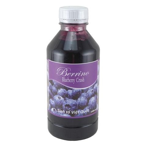 sinh tố việt quất berrino