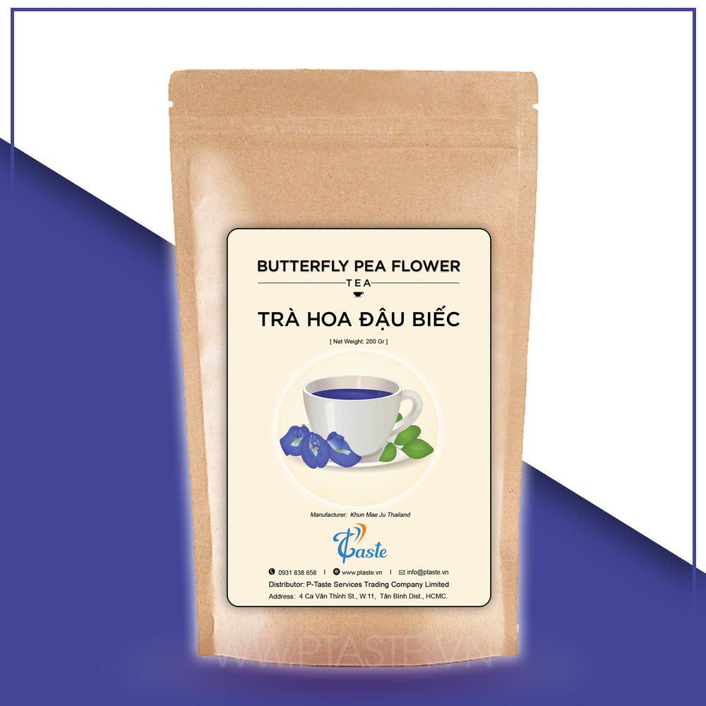 trà hoa đậu biếc sấy khô organic