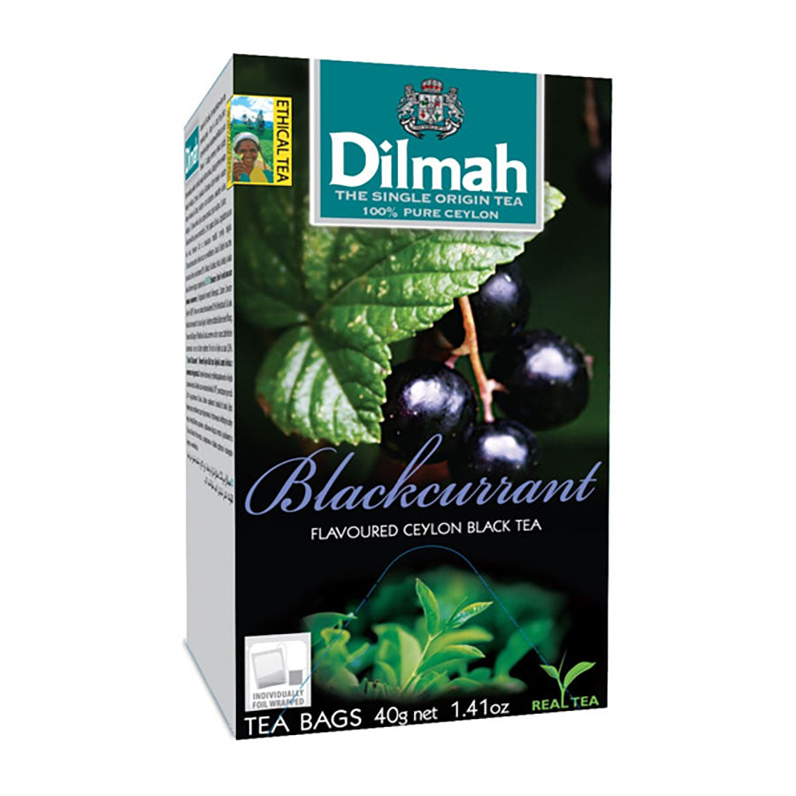 trà túi lọc dilmah blackcurrant