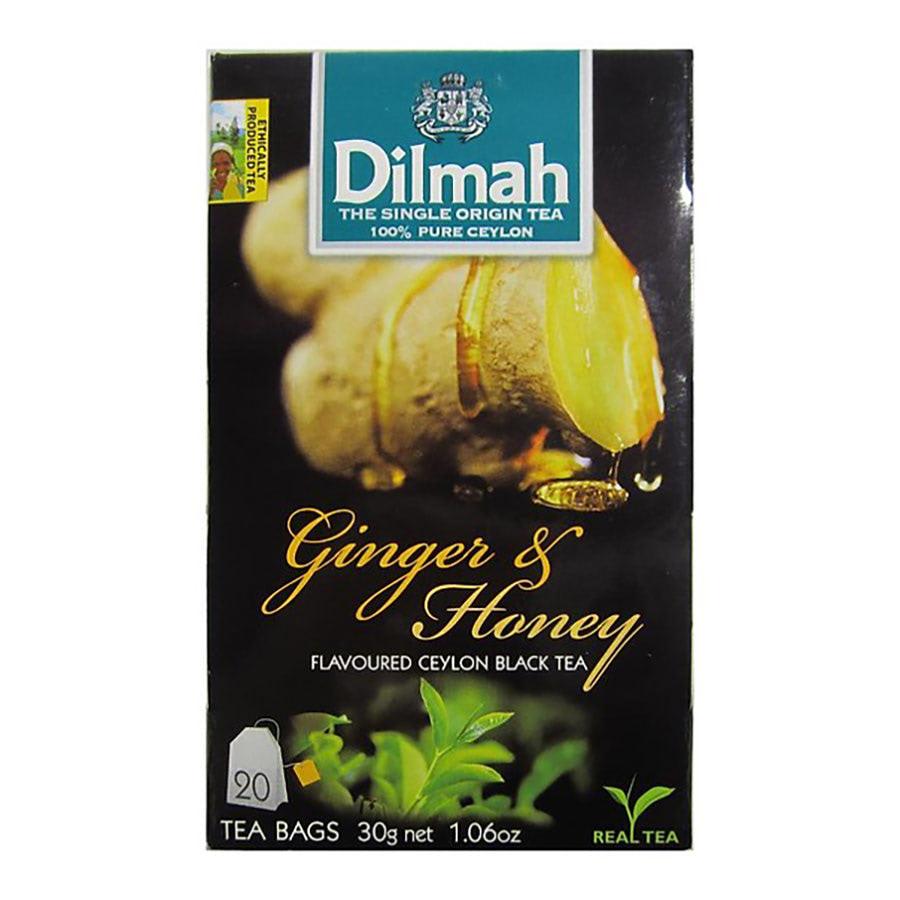 trà túi lọc dilmah gừng mật ong