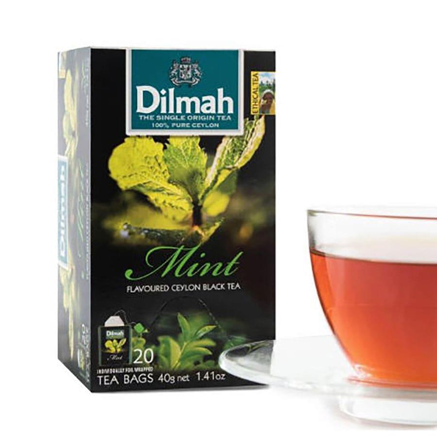 trà túi lọc dilmah bạc hà