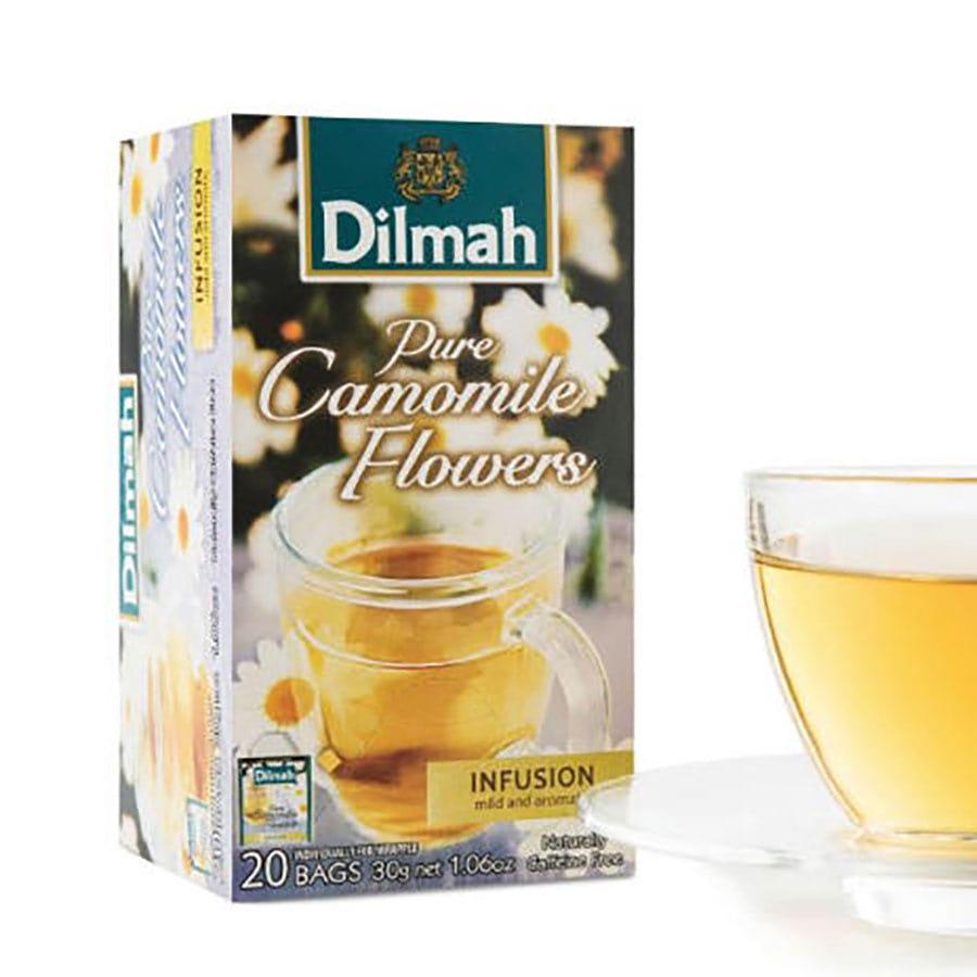 trà túi lọc dilmah hoa cúc