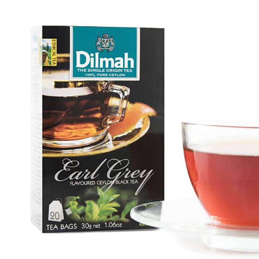 trà túi lọc dilmah bá tước