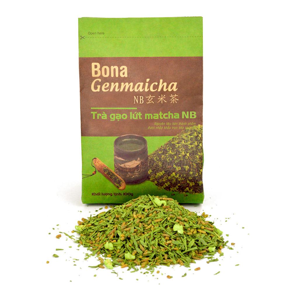 trà gạo rang Genmaicha