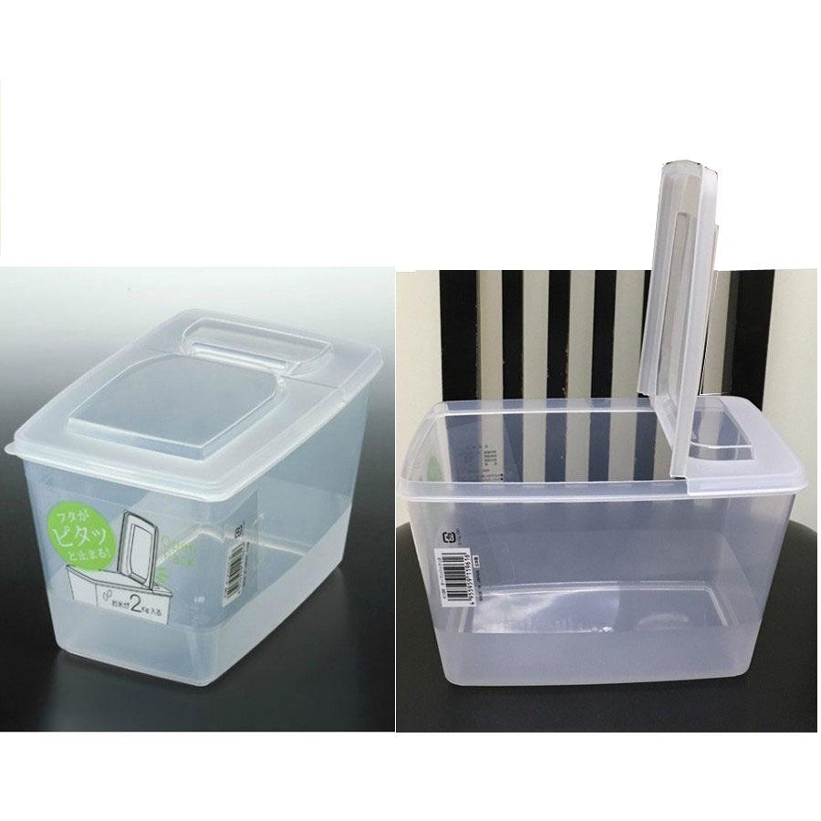 hộp nhựa có nắp bật