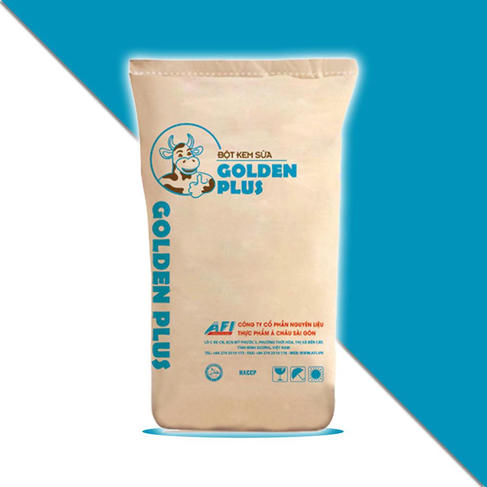 bột kem sữa golden plus làm trà sữa