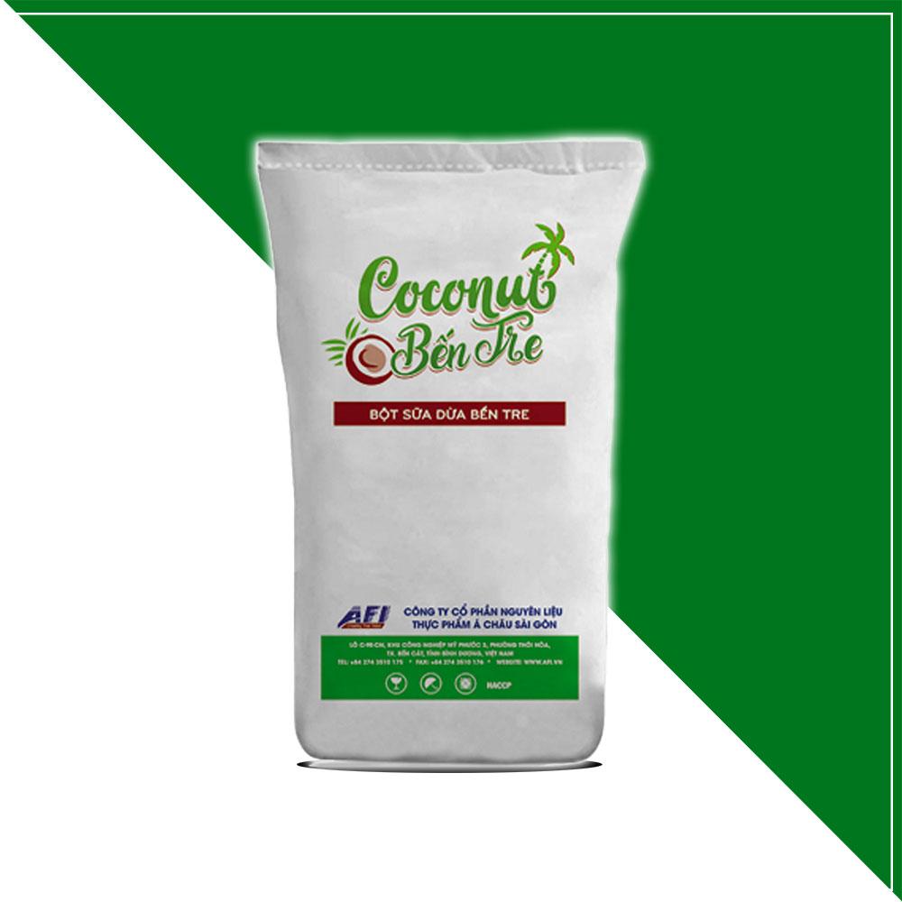 bột sữa dừa Bến Tre
