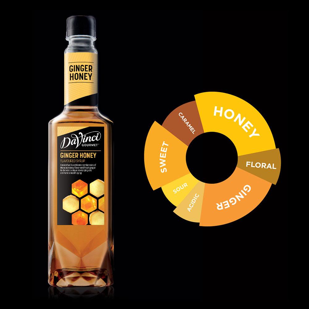 siro gừng mật ong DaVinci Gourmet