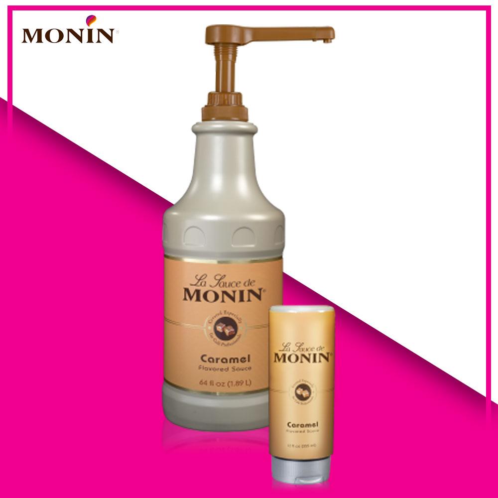 xốt caramel Monin