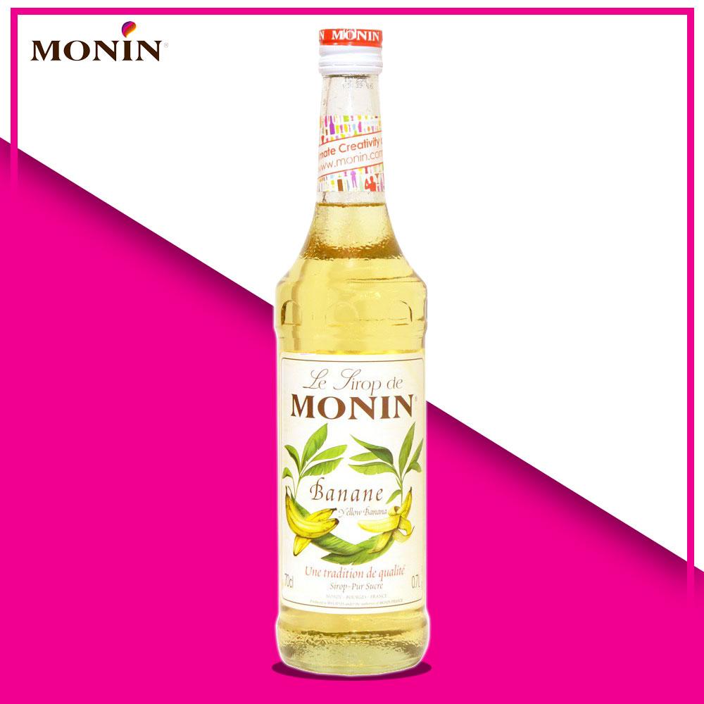 siro chuối vàng Monin
