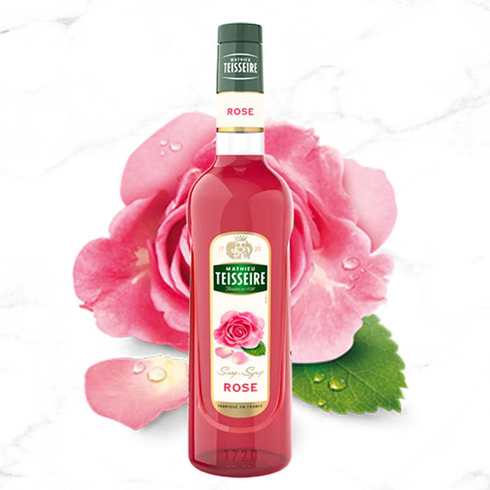 siro hoa hồng teisseire