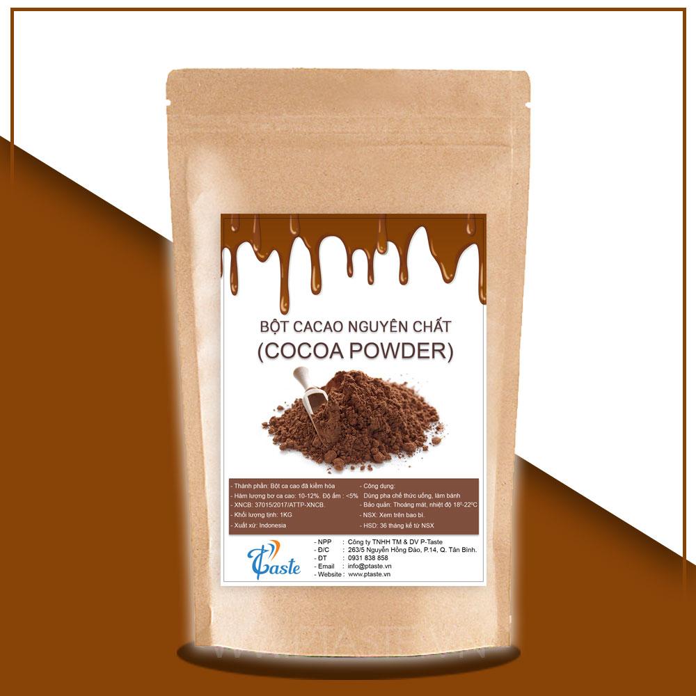 bột cacao nguyên chất Cargill
