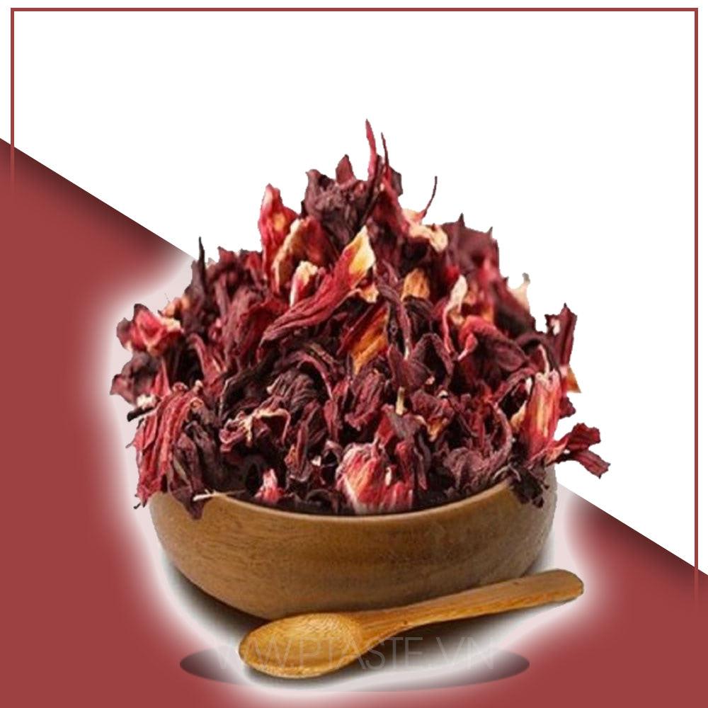 hoa atiso đỏ khô organic