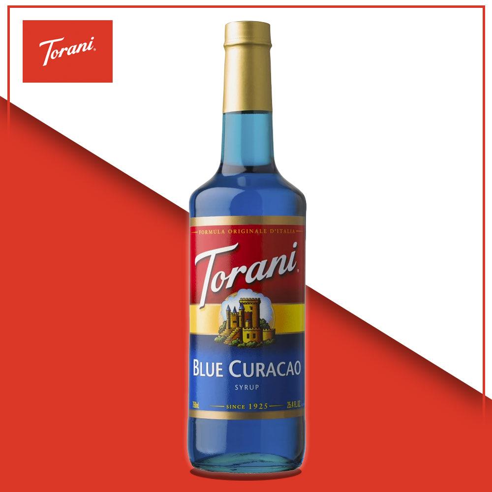 syrup blue curacao