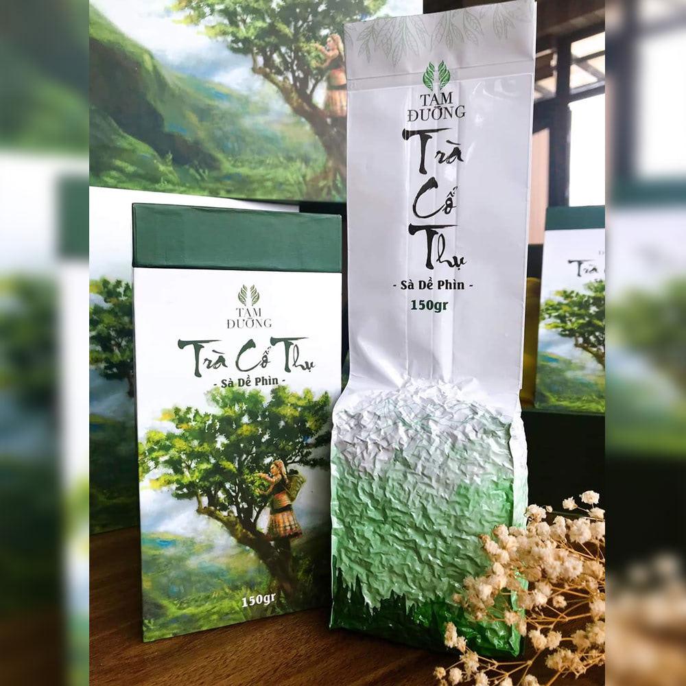 nguyên liệu pha chế hồng trà cổ thụ Tam Đường