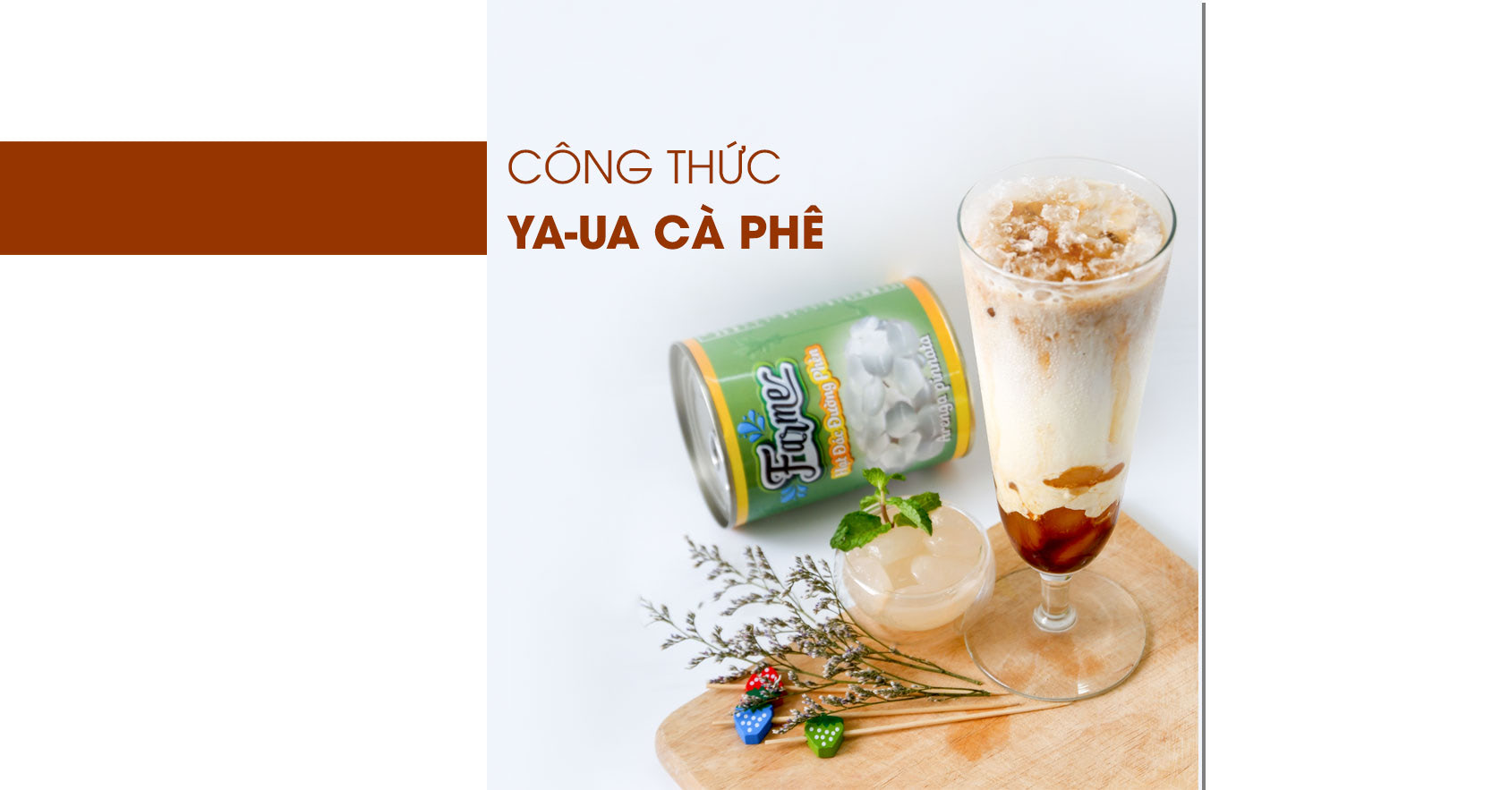 công thức ya-ua cà phê