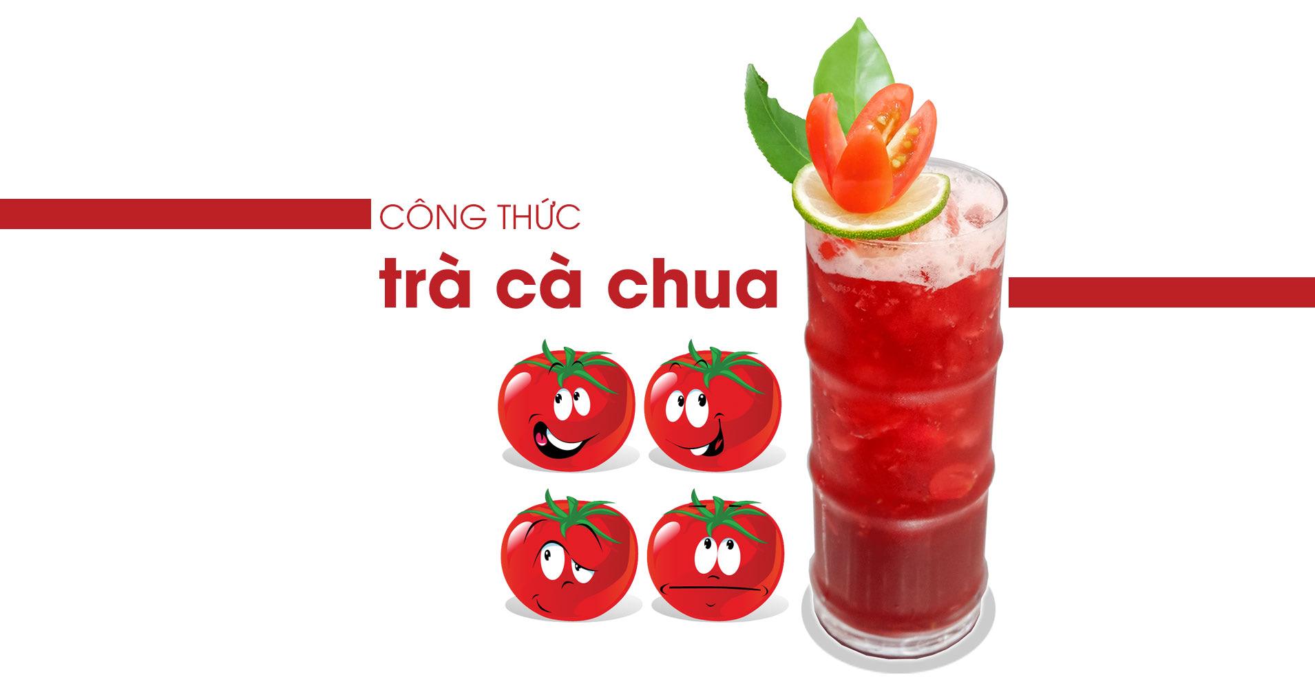 công thức trà cà chua