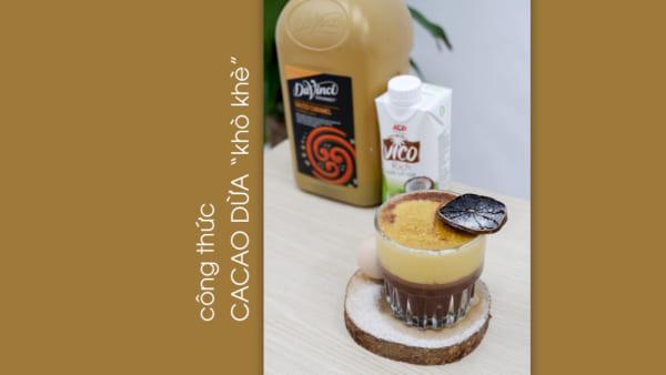 công thức cacao dừa khò khè