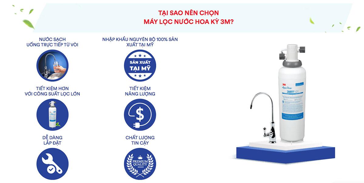 máy lọc nước 3M
