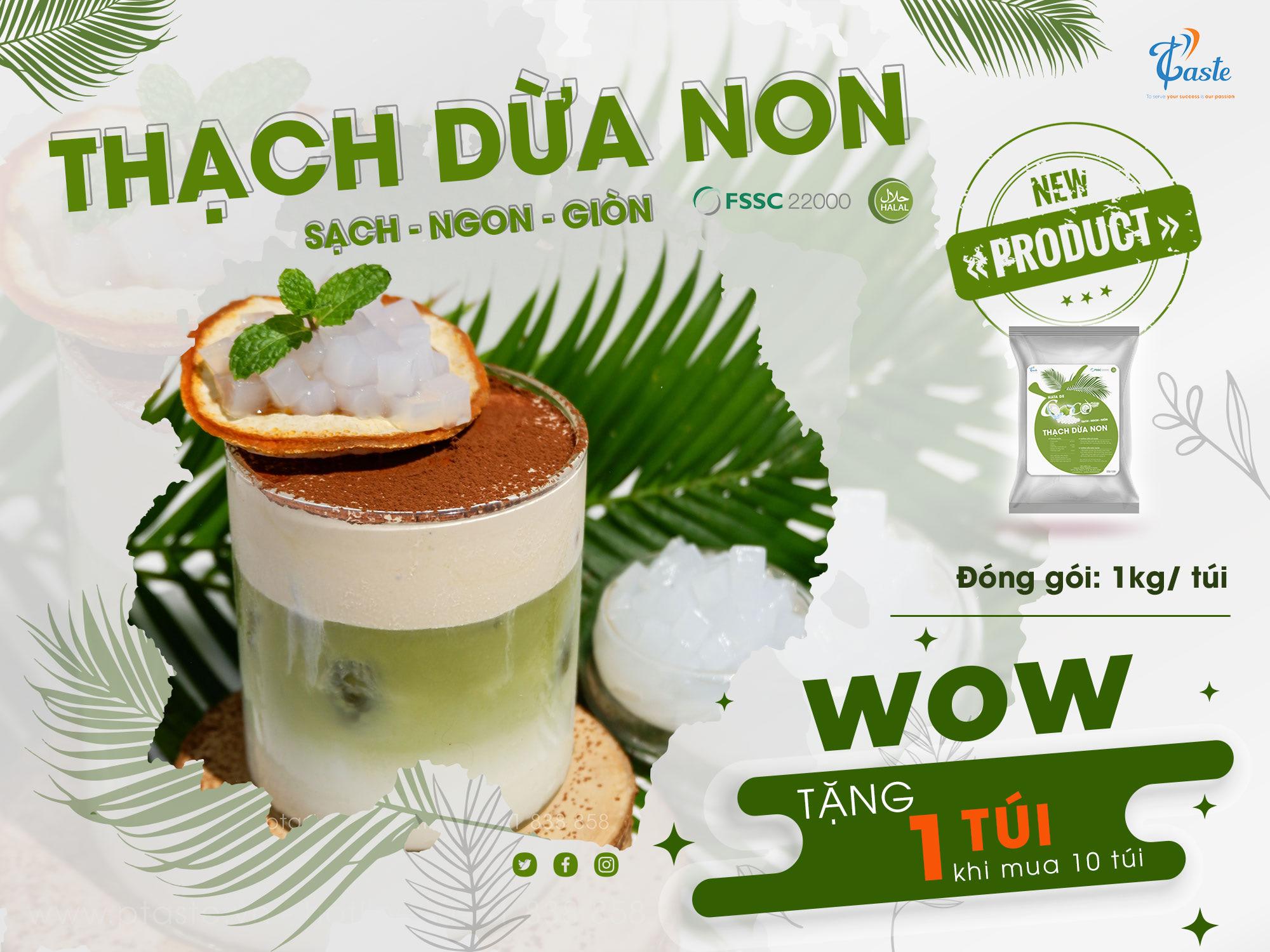 thạch dừa non P-taste