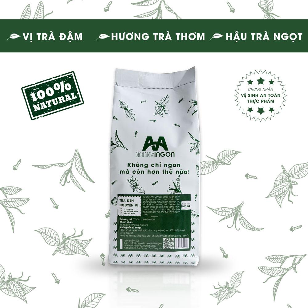 trà đen nguyên vị AMAZINgon